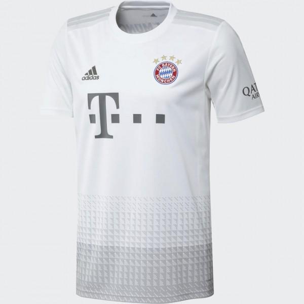adidas FC Bayern Away Jersey Auswärts-Trikot kurzarm 2019