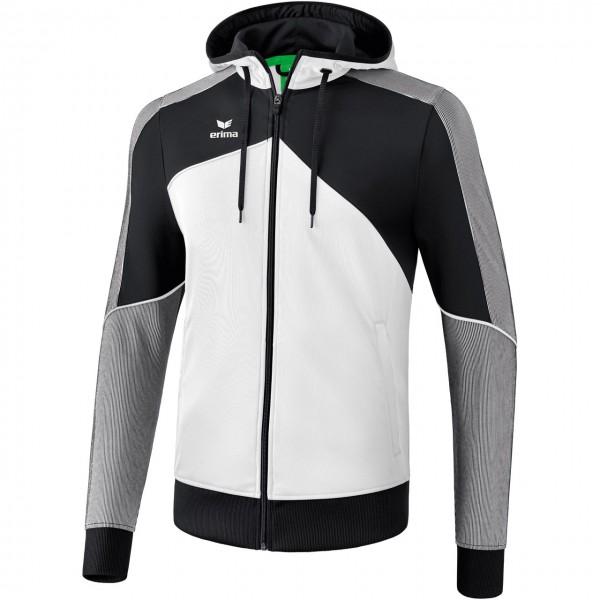 Erima Premium One 2.0 Trainingsjacke mit Kapuze Kinder
