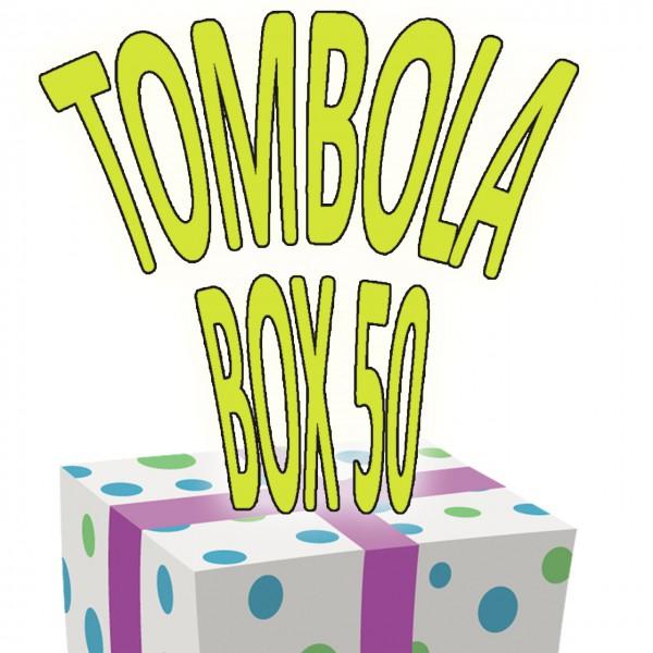 Tombola-Box 50-teilig