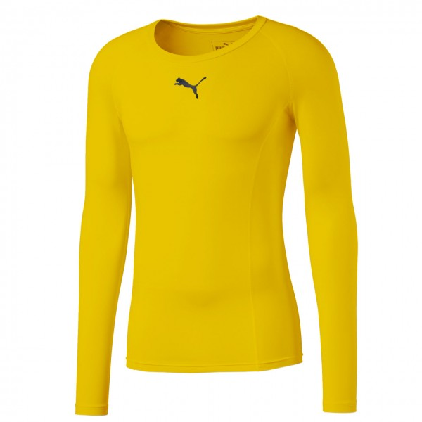 Puma LIGA Baselayer Tee LS Jr