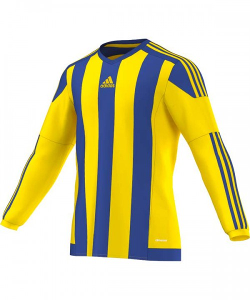 adidas Striped 15 Match Jersey Trikot langarm Kinder