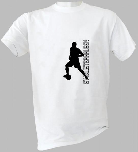 T-Shirt ACTION mit Fußball-Motiv und Vereinsnamen