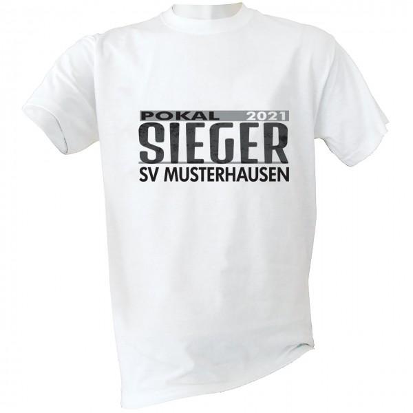 Pokalsieger T-Shirt 2021 Kinder