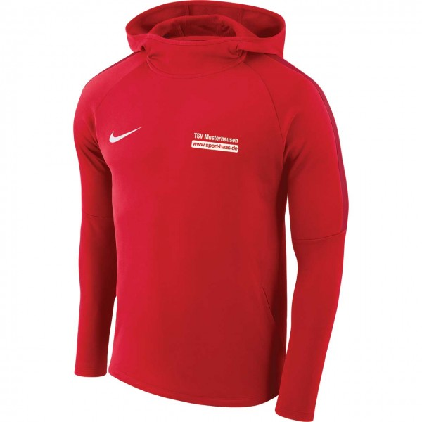 Mens Nike Dry Academy 18 Football Hoodie Kapuzensweater