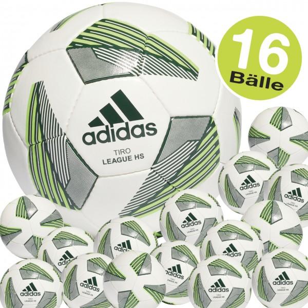 16er adidas Tiro Match Trainingsball Fußball Set