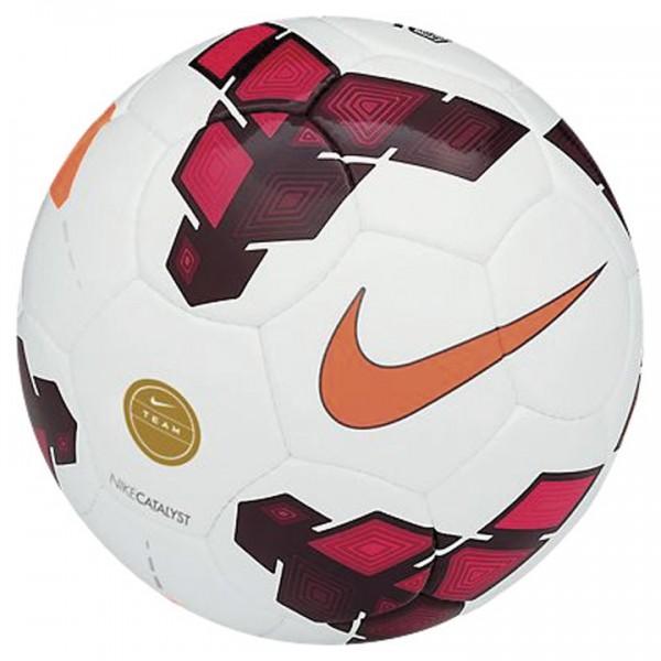 Nike Catalyst Team Spielball Fußball weiß-orange-rot Gr5
