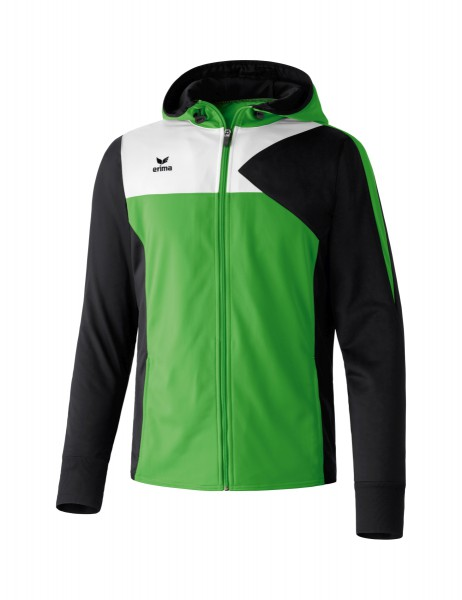 Erima Premium One Trainingsjacke mit Kapuze Kinder