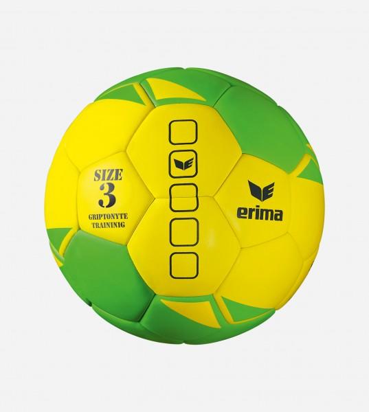 Erima Griptonyte Handball Trainingsball grün-gelb