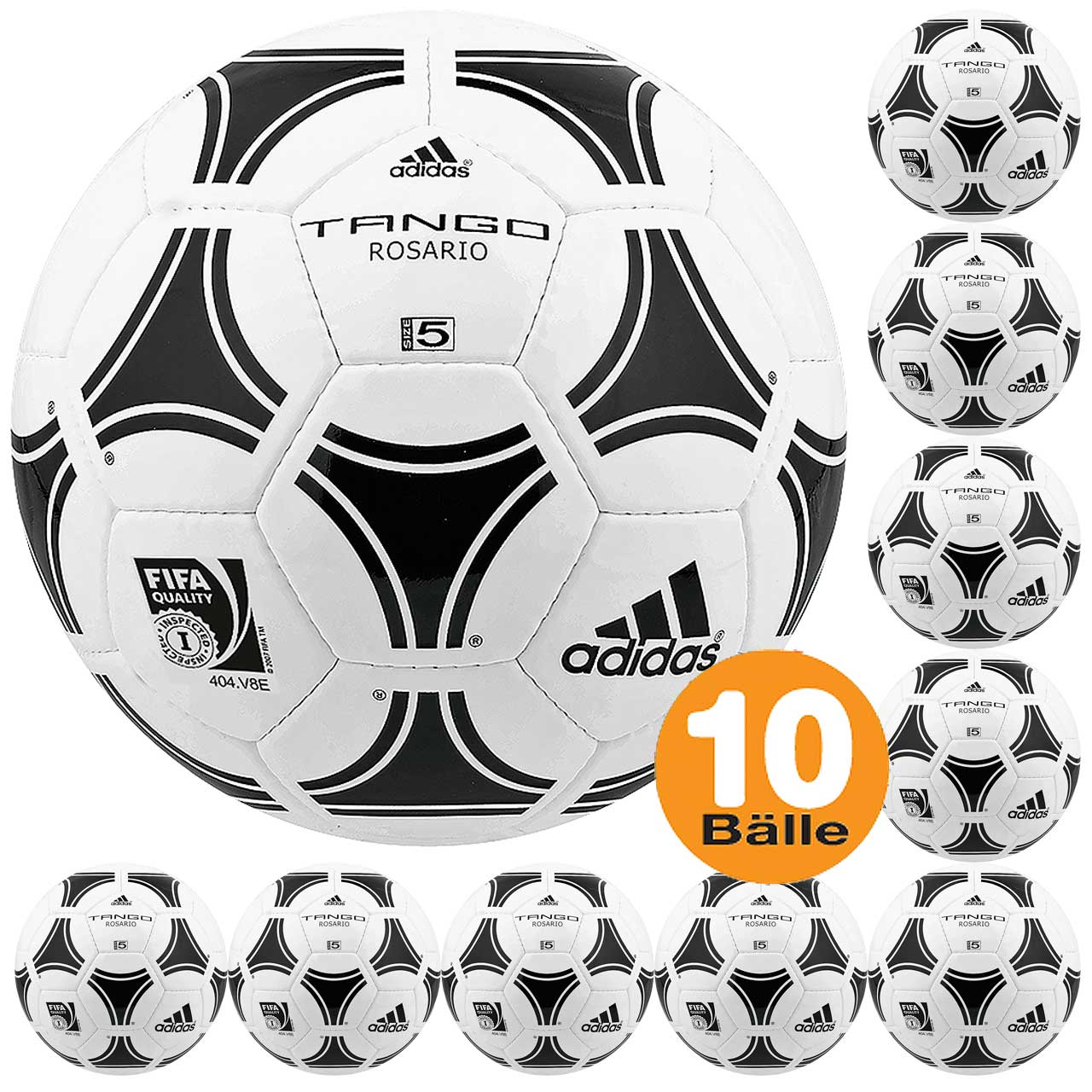 good quality on wholesale new products adidas Tango Rosario 10er Fußball-Paket