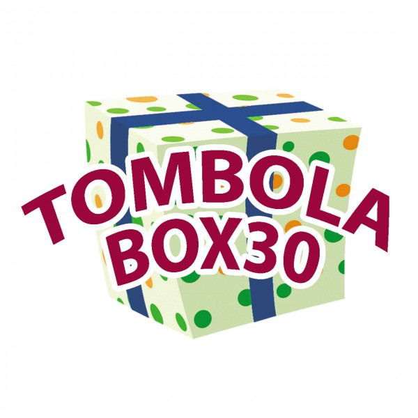 Tombola-Box 30-teilig