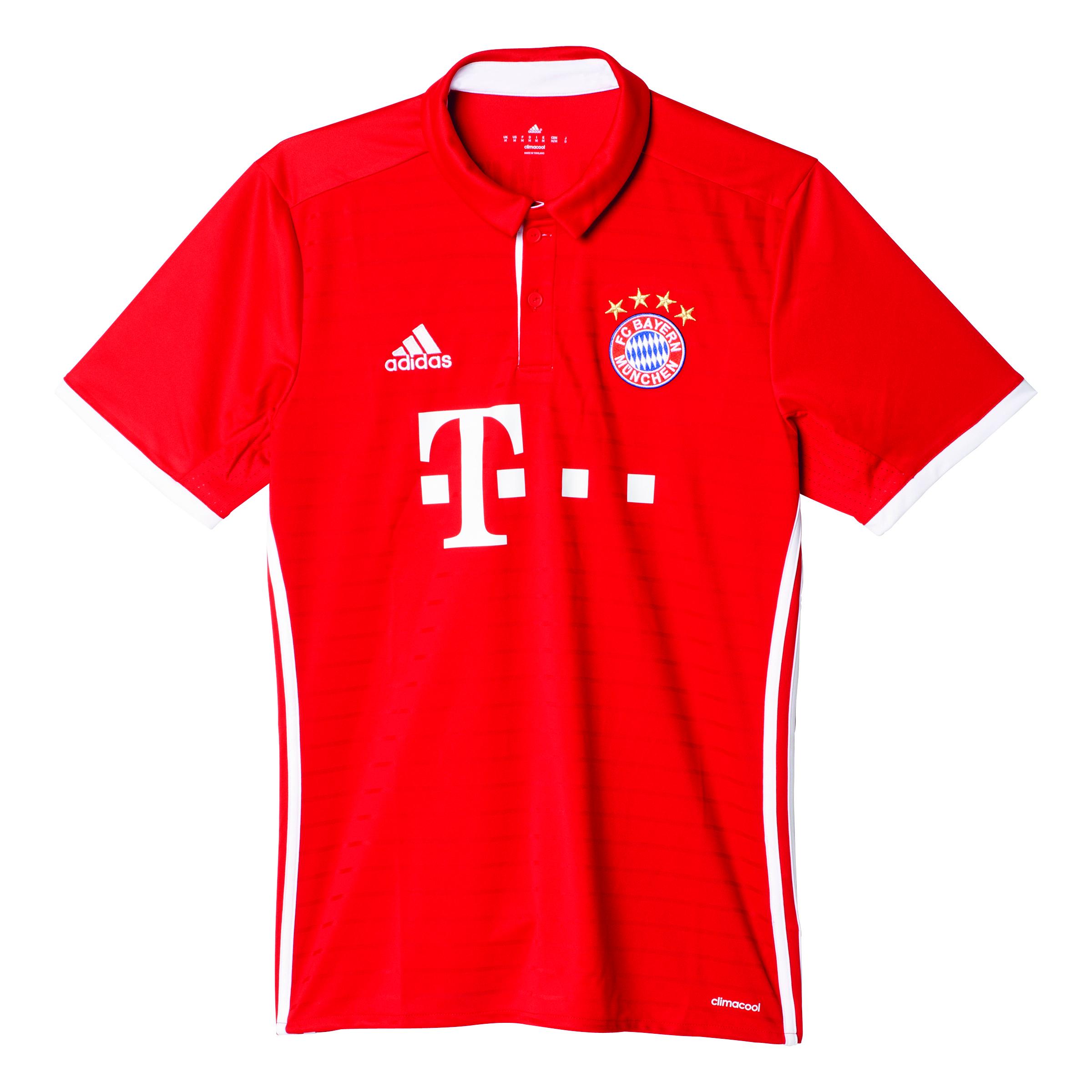 96bdd45e3ff087 ... Vorschau  adidas FC Bayern München Home Trikot Kinder 2016 2017 kurzarm  rot ...