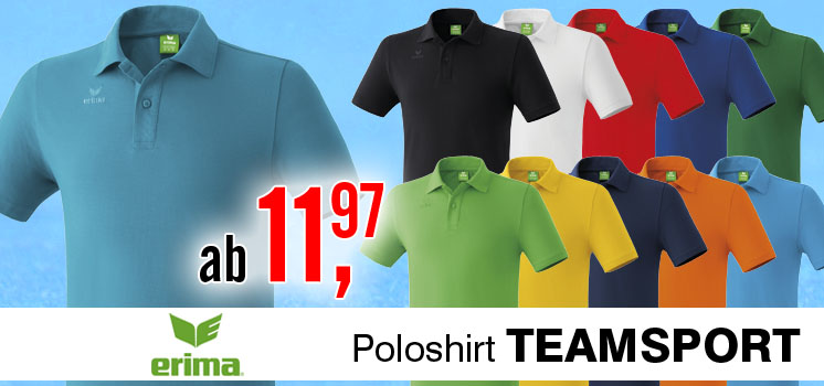 Erima Teamsport Polo-Shirt