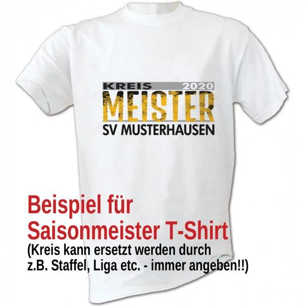 Kreismeister T-Shirt 2020 Kinder