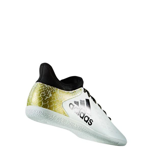 adidas X16.3 IN Indoorschuhe Hallenfußballschuhe weiß