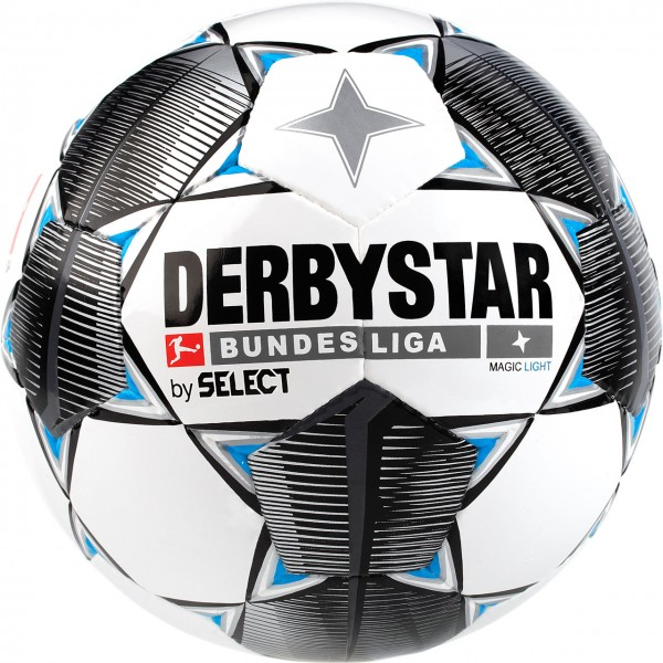Derbystar Fußball Bundesliga19-20 Magic Light 350g Jugend-Trainingsball