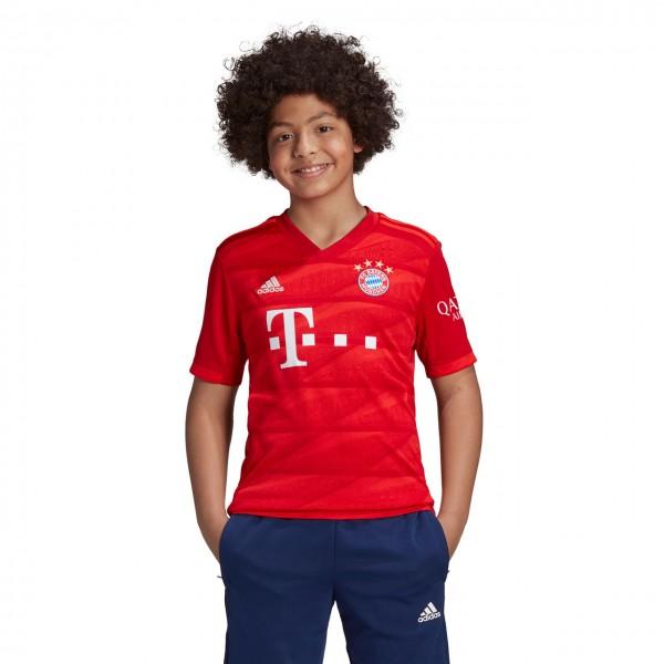 adidas FC Bayern Home Jersey Heim-Trikot 2019 Kinder kurzarm