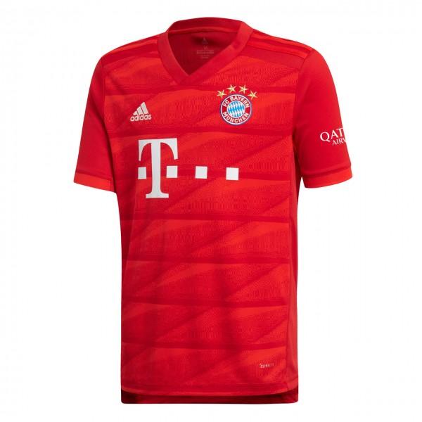 adidas FC Bayern Home Jersey Heim-Trikot kurzarm 2019