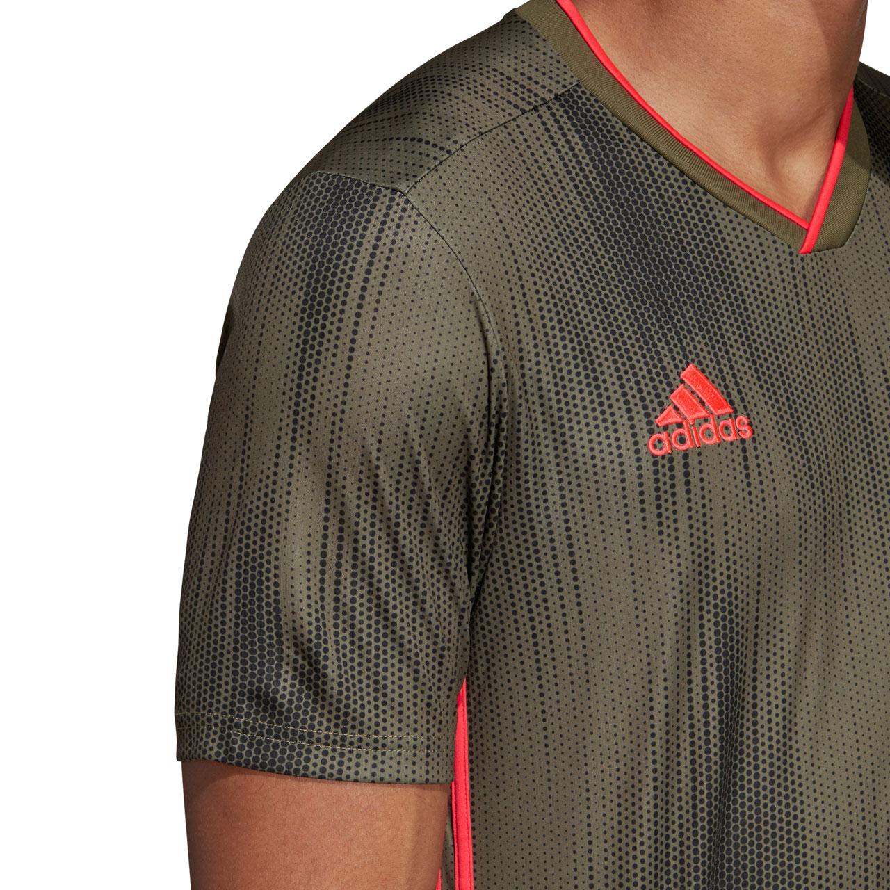 adidas Tiro 19 Fußballtrikot Jungen lila orange im Online Shop von SportScheck kaufen