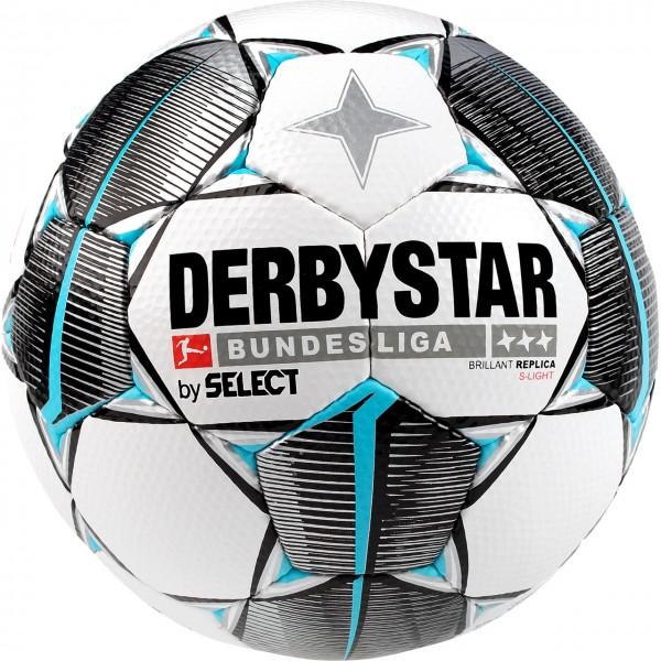 Derbystar Fußball Bundesliga19-20 Brillant Replica S-Light Trainingsball