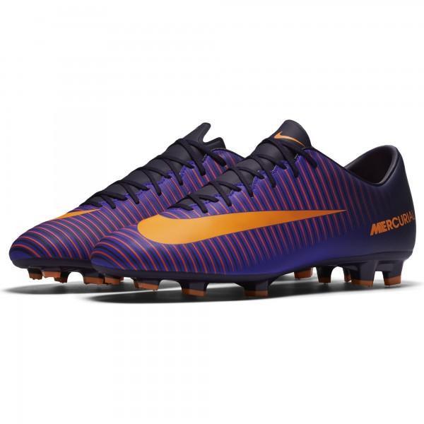 Nike Mercurial Victory VI FG Fußballschuhe 585 lila-hellgelb