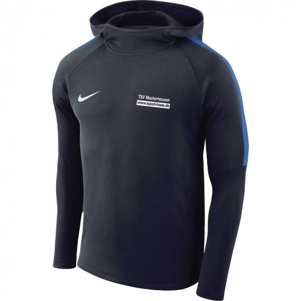 Boys Nike Dry Academy 18 Football Hoodie Kinder