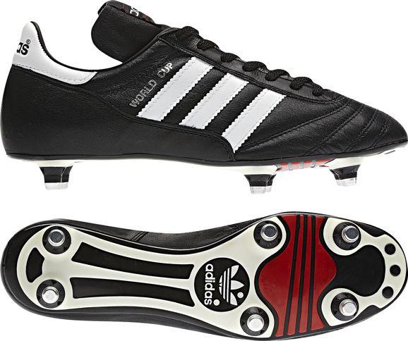 adidas World Cup Stollenschuhe schwarz