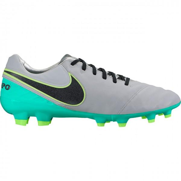 Nike Tiempo Legacy II FG Fußballschuhe 003 hellgrau-türkis