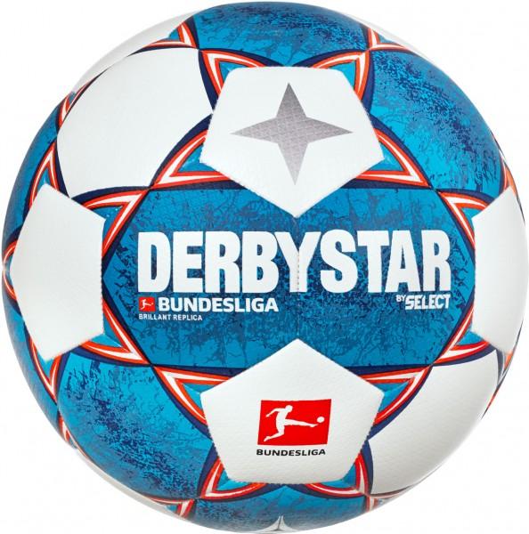Derbystar Brillant Replica v21 Bundesliga Fußball Gr5
