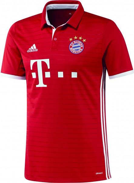 adidas FC Bayern München Home Trikot 20162017 kurzarm rot