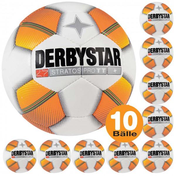 10er Derbystar Fußball Training Stratos Pro TT Ballset