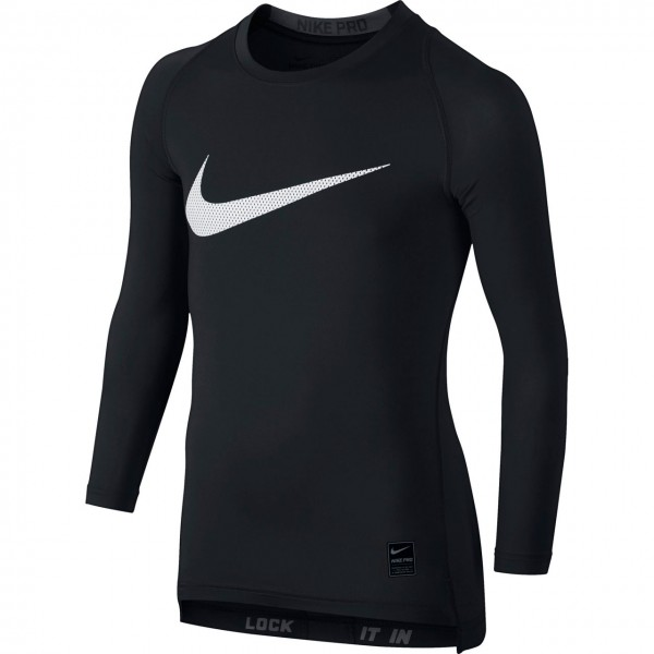 Nike COOL COMPRESSION Long Sleeve Top Youth Langarmshirt Kinder