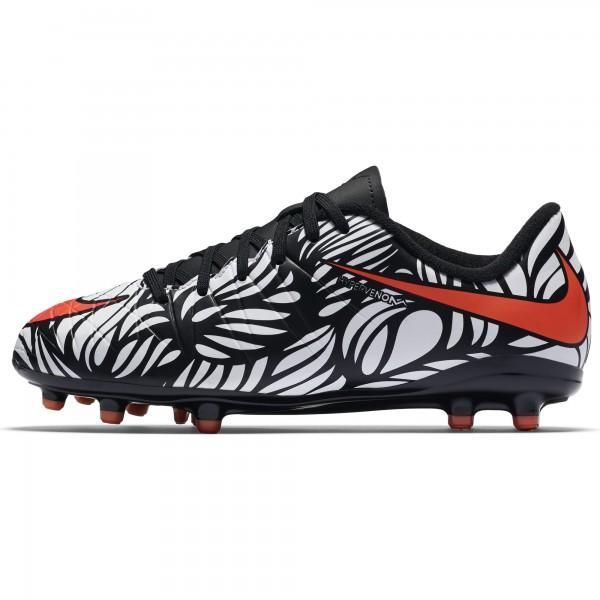 Nike HyperVenom Phinish NJR FG Fb 061 Fußballschuh weiß/schwarz