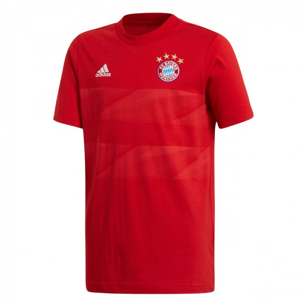 adidas FC Bayern GRAPHIC TEE Kinder
