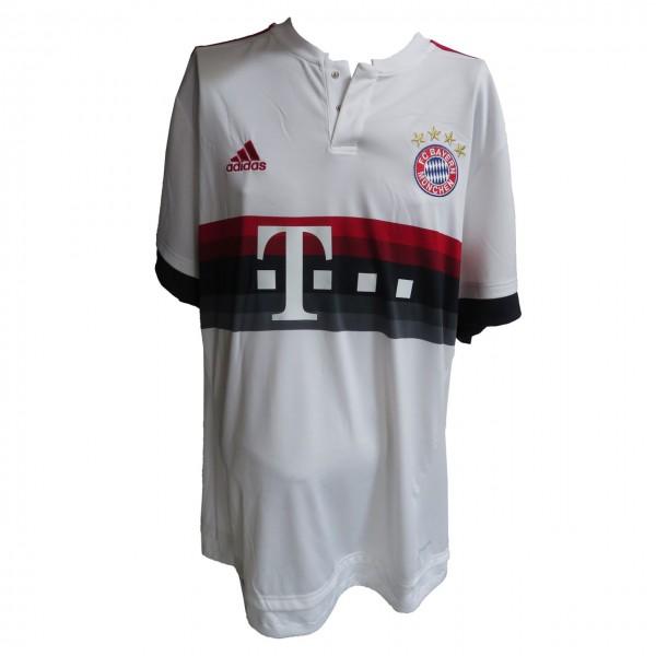 adidas FC Bayern München Away Trikot 20152016 kurzarm weiß rot Gr2XL