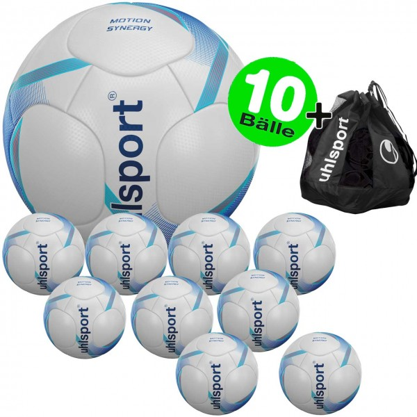 10er Ballset uhlsport Motion Synergy Trainings-Fußball