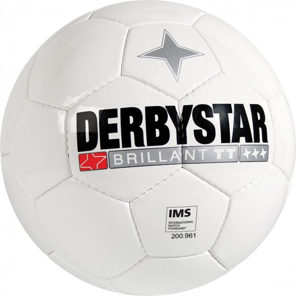Derbystar Fußball Training Brillant TT Weiss