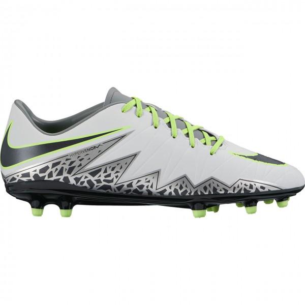 Nike Hypervenom Phelon II FG Fußballschuhe 003 weiß-silber