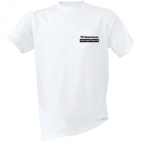 Aufwärm-T-Shirt Brust Vereinsname und SHL Kinder