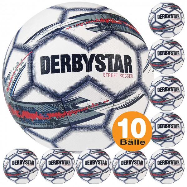 Derbystar STREET SOCCER 10er Ballset Freizeitfußball