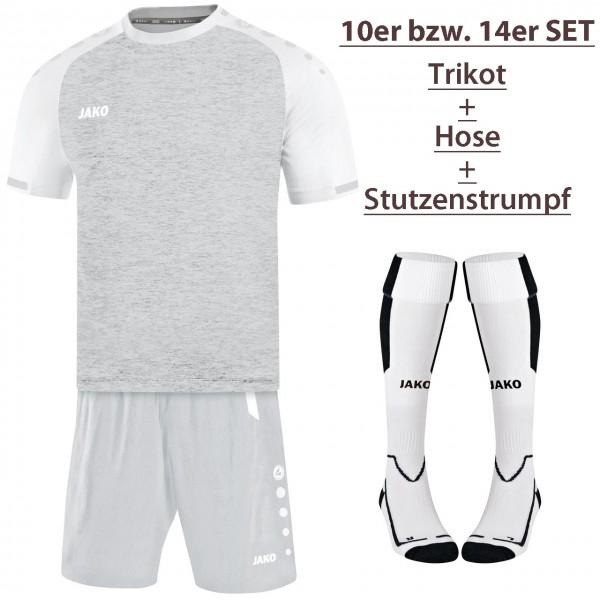 10er Jako Kurzarm-Trikot-Hosen-Stutzen-Set Prestige-Turin-Lazio