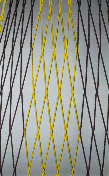 Tornetz 7,5x2,5x0,8-2m PAAR zweifarbig