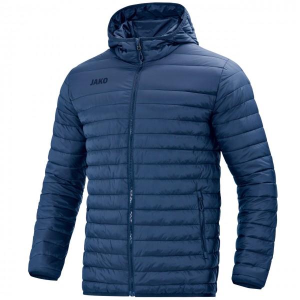 Jako Steppjacke      ultraleichte Steppjacke     wärmeisolierende Wattierung     Jacken- und Ärmelabschluss mit elastischer Binding     durchgehender Frontreißverschluss     Seitentaschen mit Reißverschluss     Stepp-Nähte     wattierte Kapuze     geringe