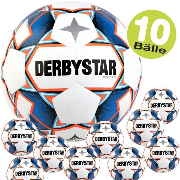 10er Set derbystar Stratos TT v20 Trainings-Fußball