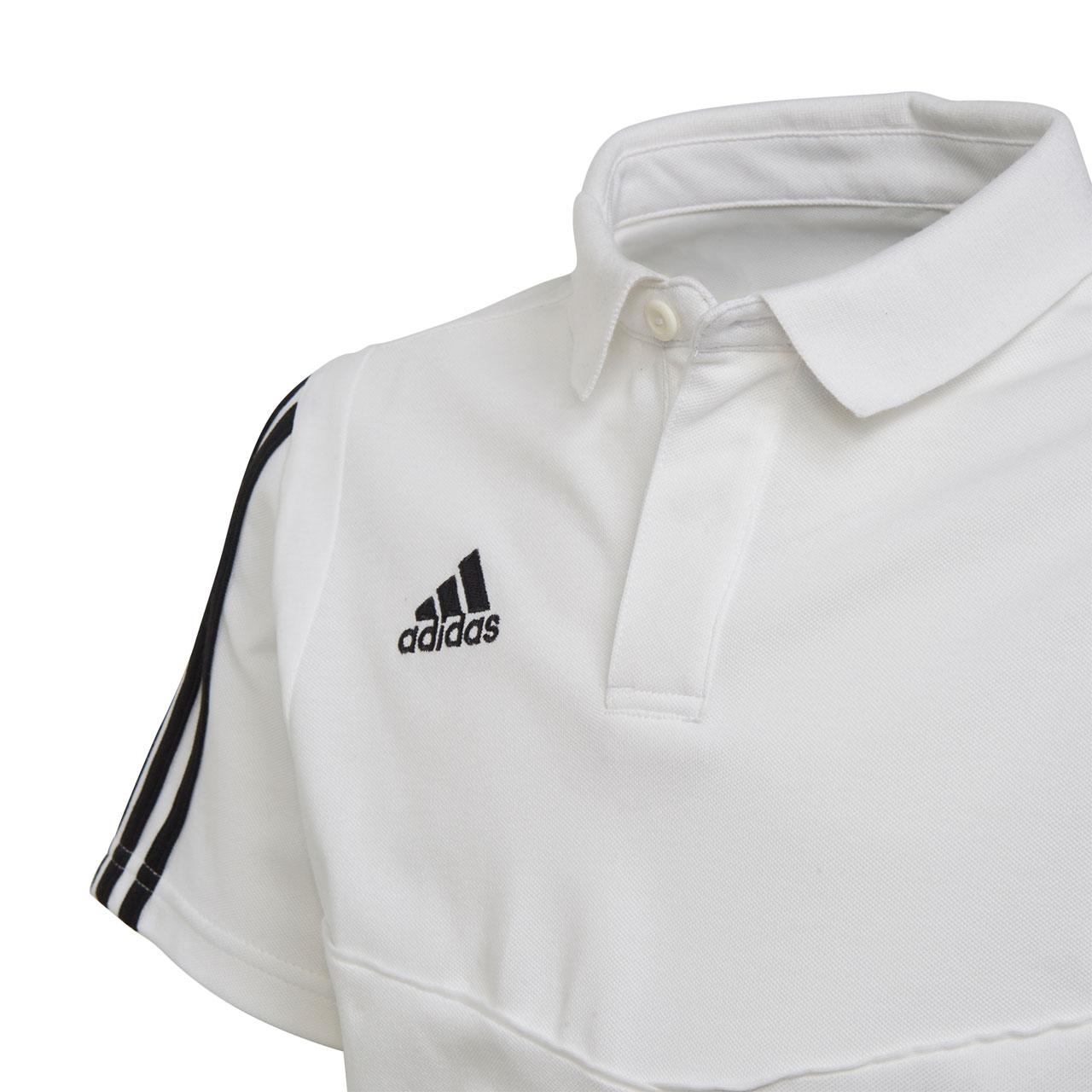 adidas Tiro 19 Kinder Cotton Polo Shirt