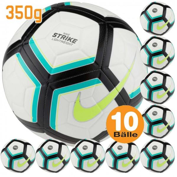 10er Ballser NIKE STRIKE TEAM LEIGHTWEIGHT FUSSBALL 350